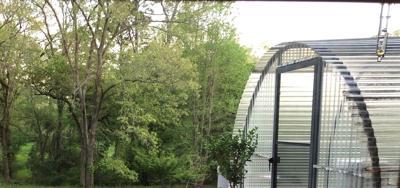John Moore's greenhouse