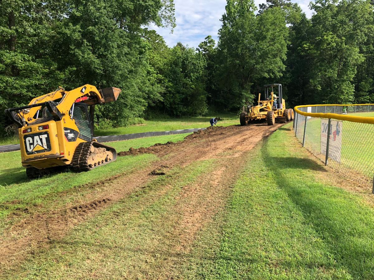 Carthage begins construction on new walking trail