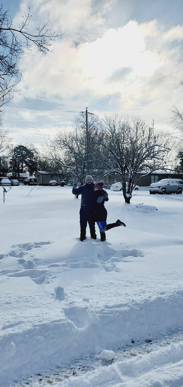 User-submitted snow
