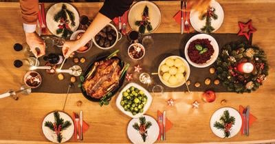 Prepare holiday party menu well ahead of time