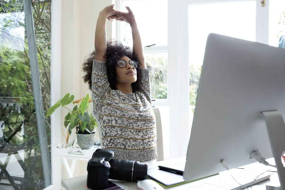 Proper posture important at home and work