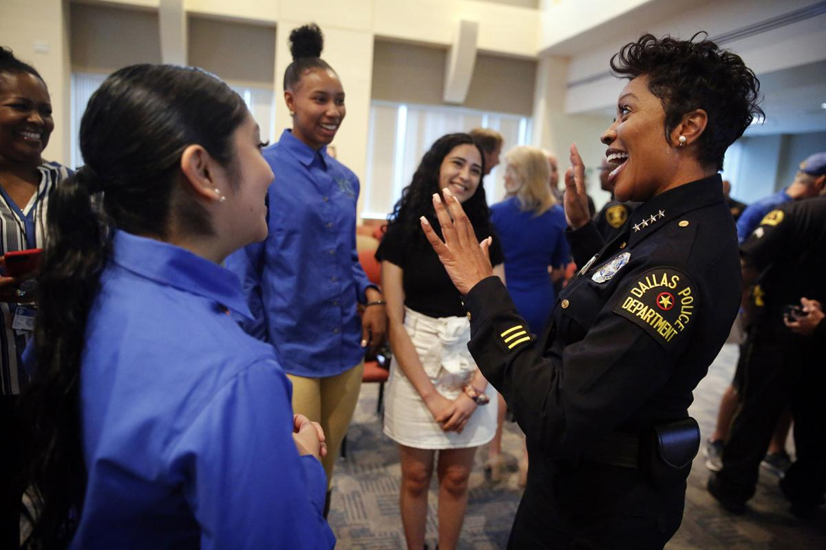 Dallas' police chief launches summer jobs program for teens