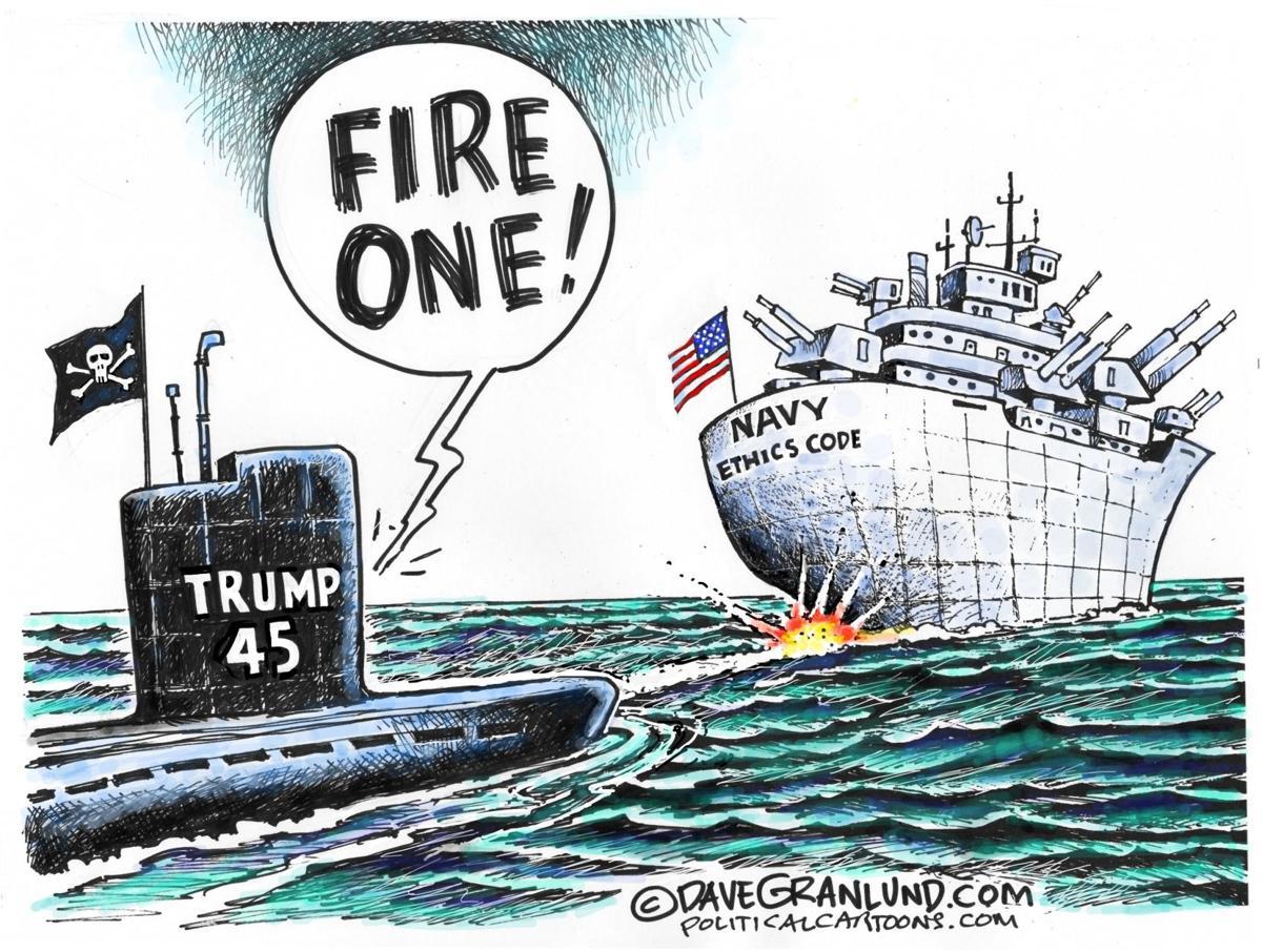 Trump vs Navy ethics code