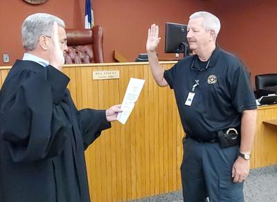 Grisham sworn in as Gregg County Pct. 1 constable