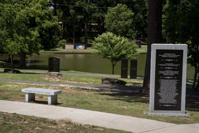 Longview Veterans Plaza in Teague Park