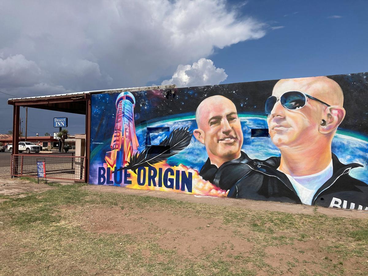 Blue Origin-Texas Town
