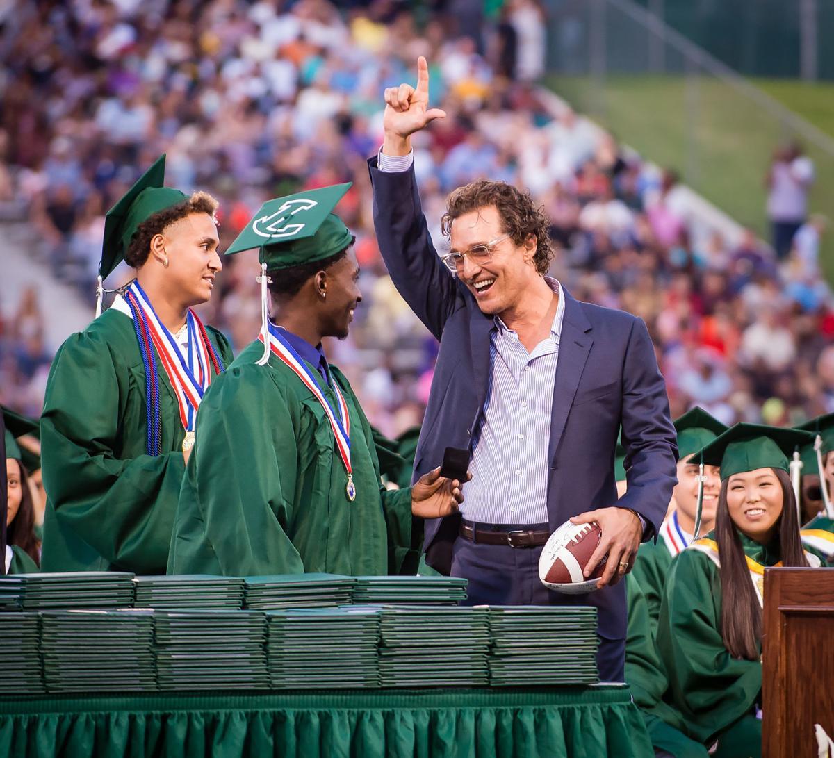 Longview High School 2019 graduation