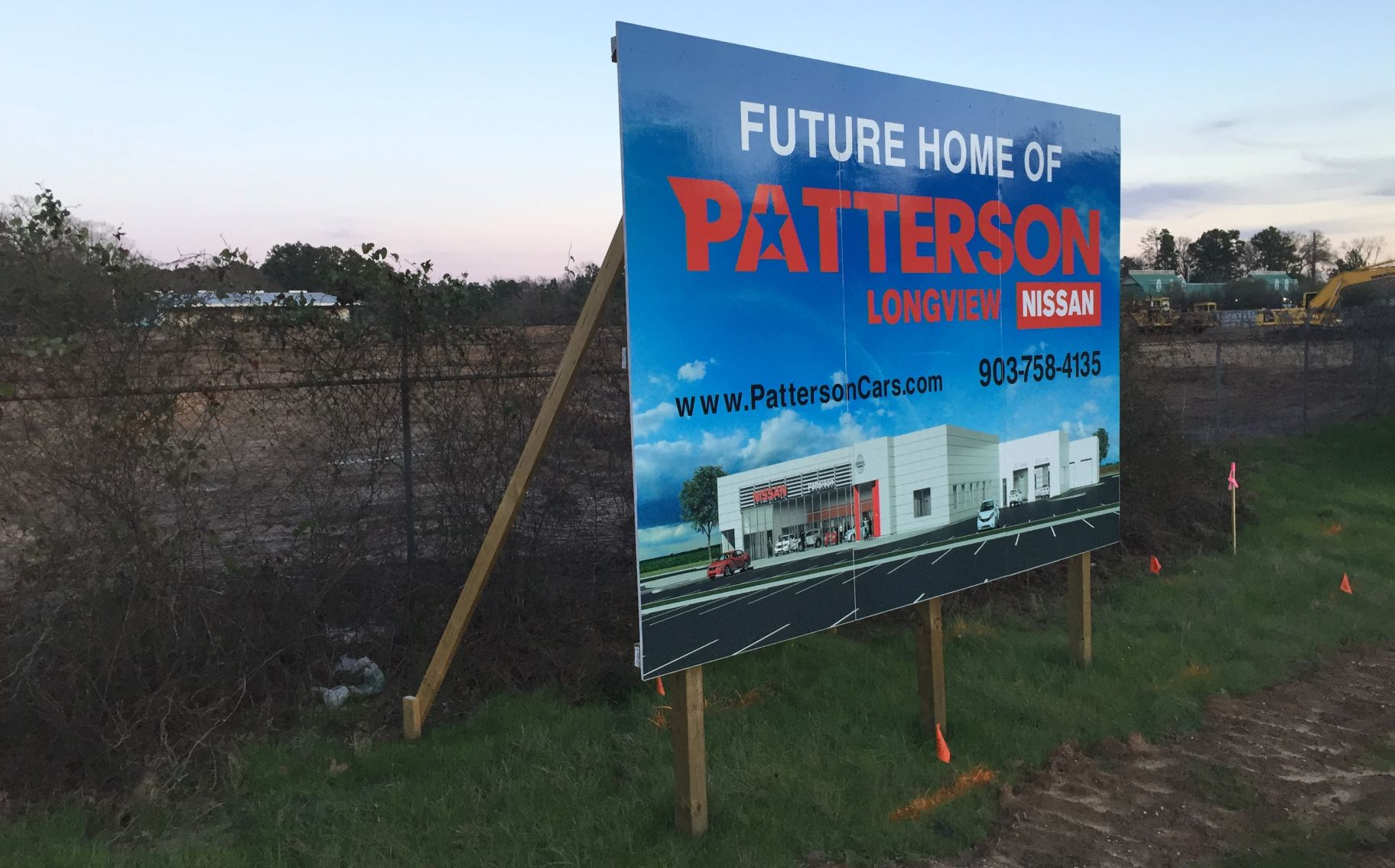 Business Beat: Patterson Nissan Move Taking Shape, Tuscan Pig Opening