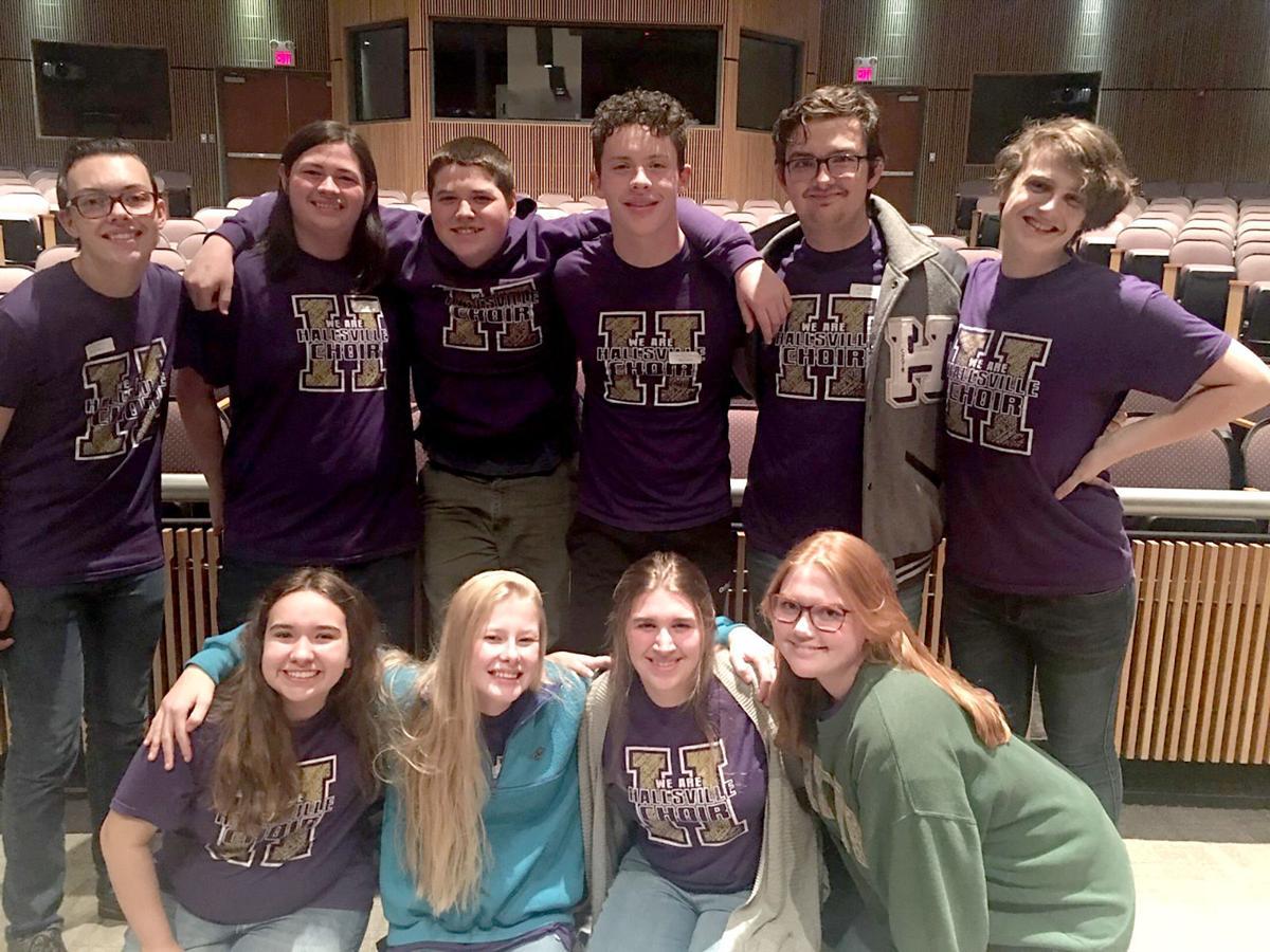 Hallsville choir