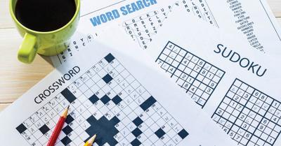 Puzzles can stimulate the brain