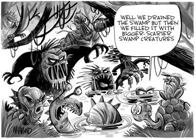 Swamp creatures