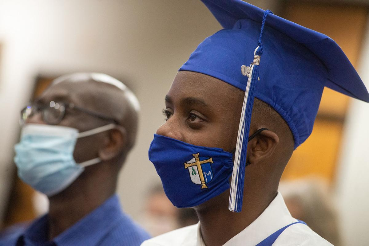 Caps, gowns and masks: St. Mary's seniors celebrate graduation ...