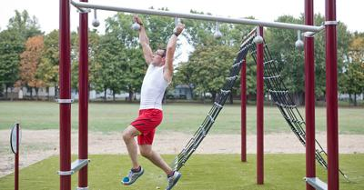Obstacle training parks can be fun for the whole family