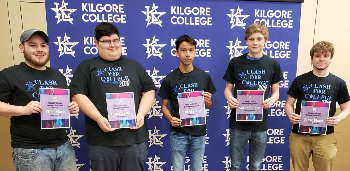 KC gaming tournament winners