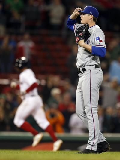 Rangers Red Sox Baseball