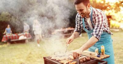 Barbecue with appropriate wine pairings