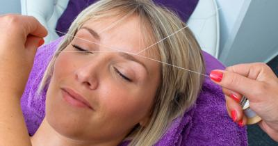 Growing popularity of eyebrow threading