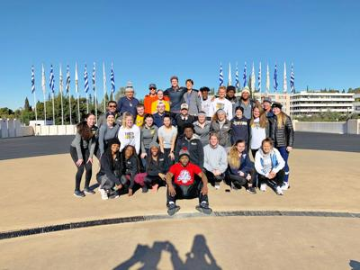 ETBU track and cross country teams serve overseas