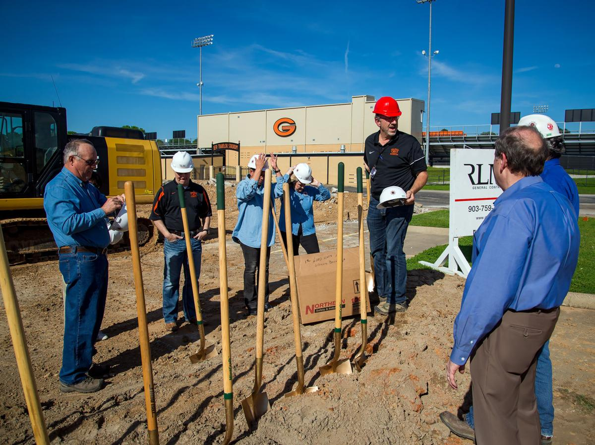 Gilmer ISD trustees break ground on new high school