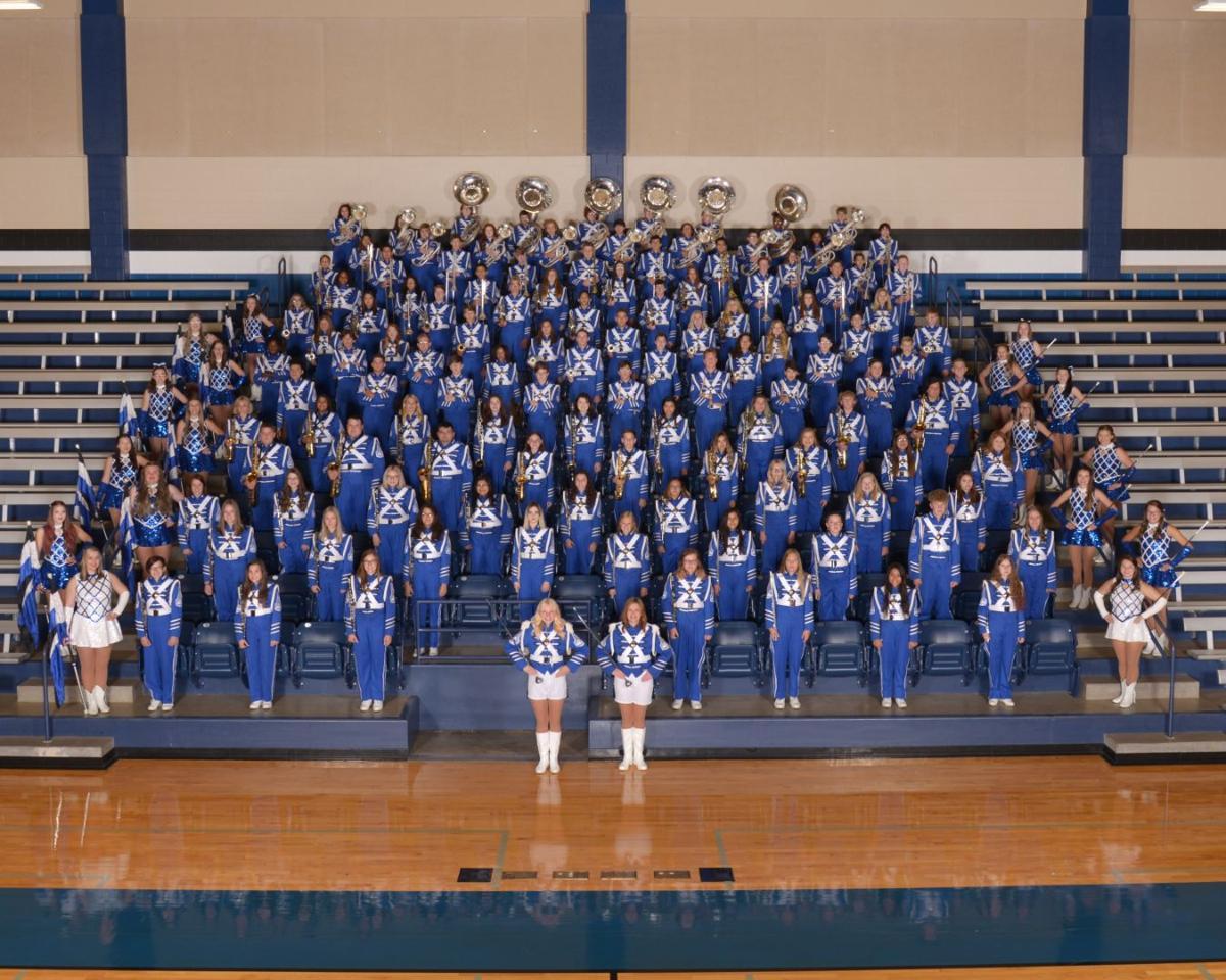 Spring Hill High School's Blue Brigade Band