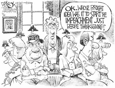 Thanksgiving impeachment