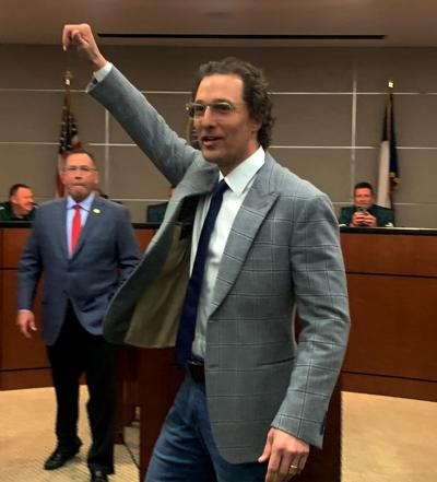 Longview ISD 'can't confirm' Longview HS alum/actor McConaughey as Friday commencement speaker