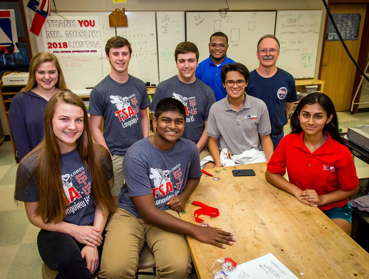Longview High School technology students win state awards, heading to nationals