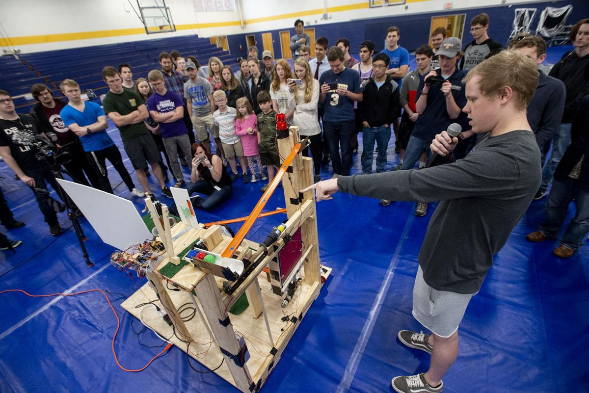 LeTourneau University students showcase engineering creativity