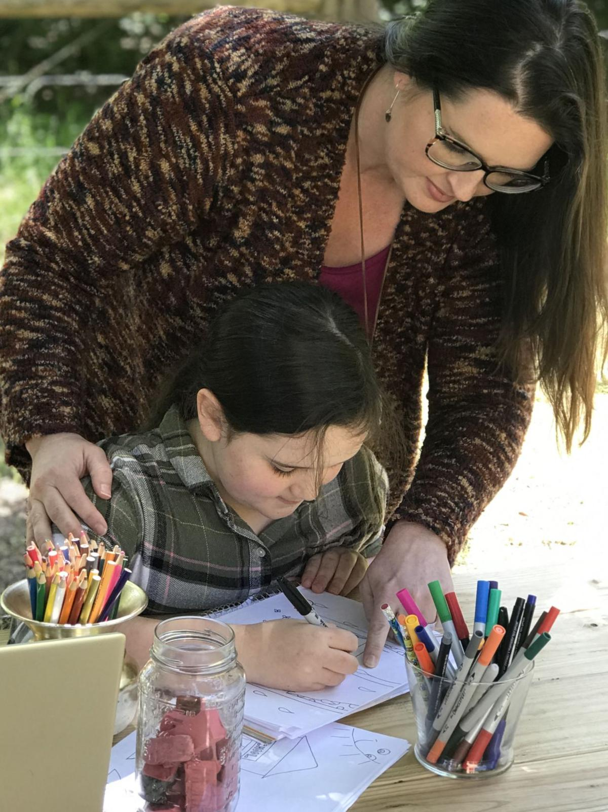 Tyler mom, daughter write children's book on social distancing