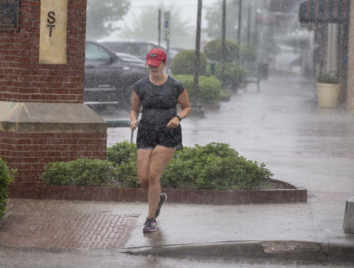 Storm delivers 0.37 inches; more rain forecast today, Friday