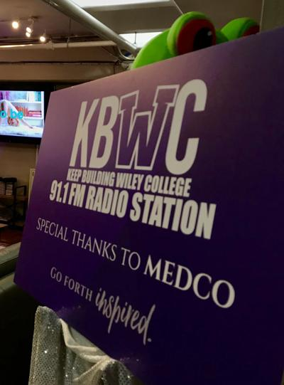Wiley College reopens campus radio station KBWC