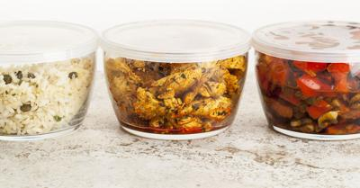 Containers helpful for holiday leftovers