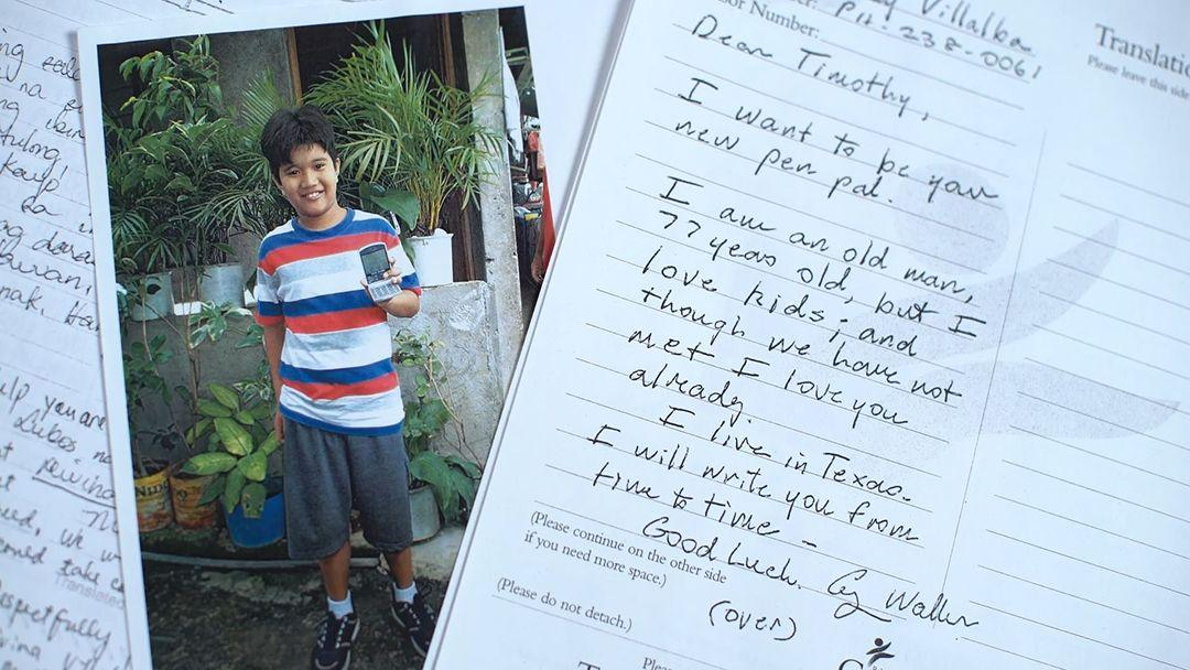 George H.W. Bush secretly sponsored a Filipino child for 10 years