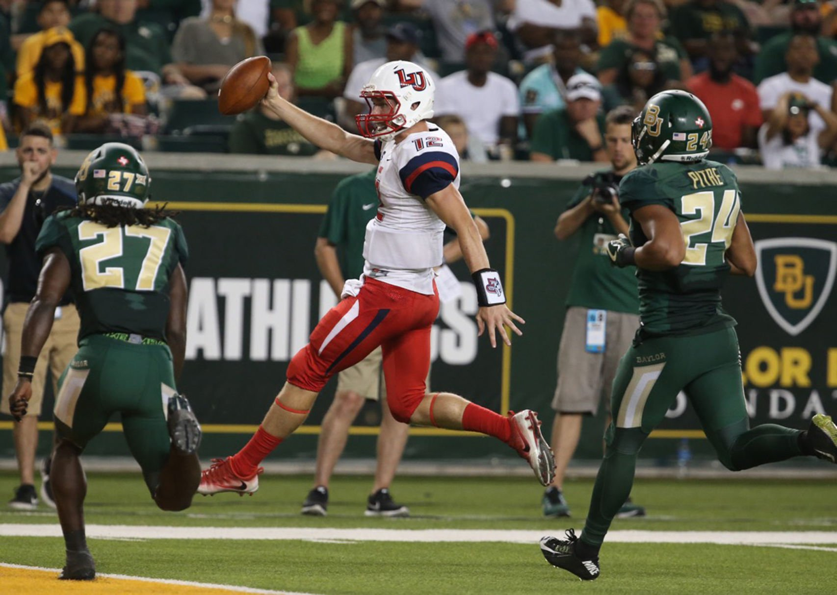 Liberty Stuns Baylor for First-Ever Power-5 Win
