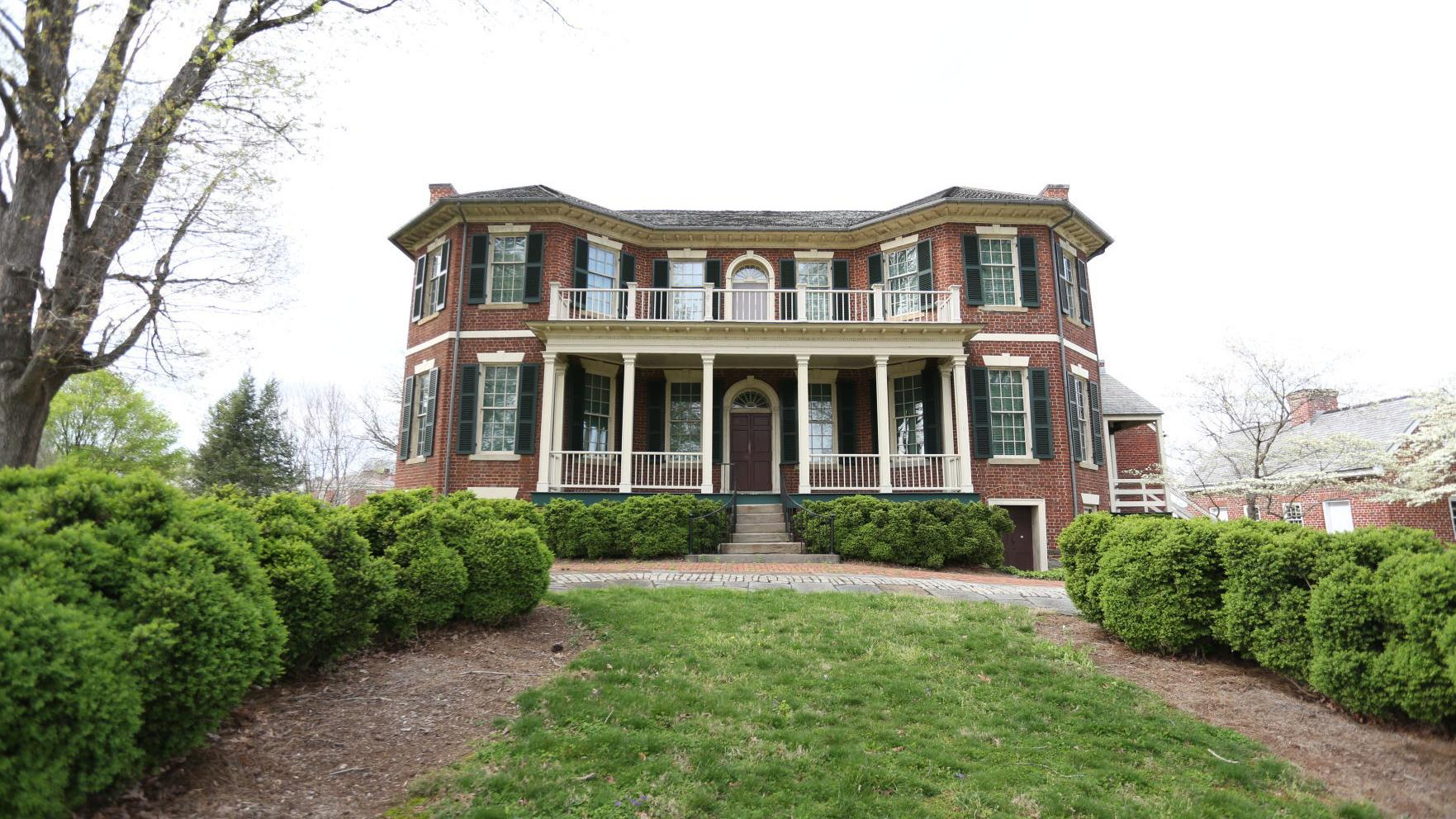 Point of Honor marks one of Lynchburg  finest dwellings