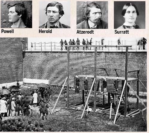 Lincoln conspirators hanged in Washington | | newsadvance.com