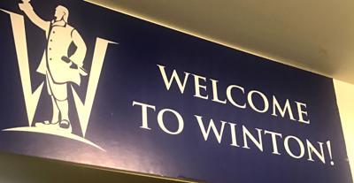 Winton sign