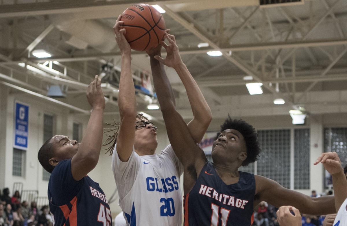 Heritage-E.C. Glass boys basketball