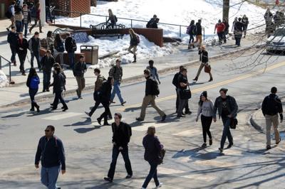 Spring enrollment dips at area colleges