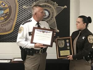 Amherst officers honored for 'composure,' bravery in shooting incident