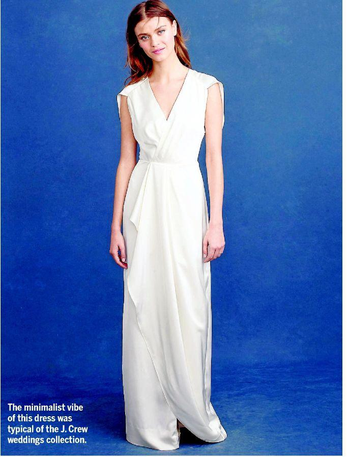 J Crew Wedding Dress.The J Crew Bridal Dress Is Dead From The Archives
