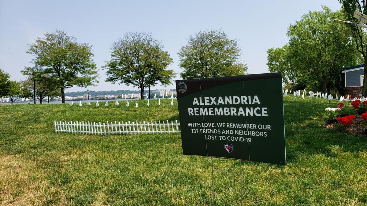 Alexandria Remembrance memorial