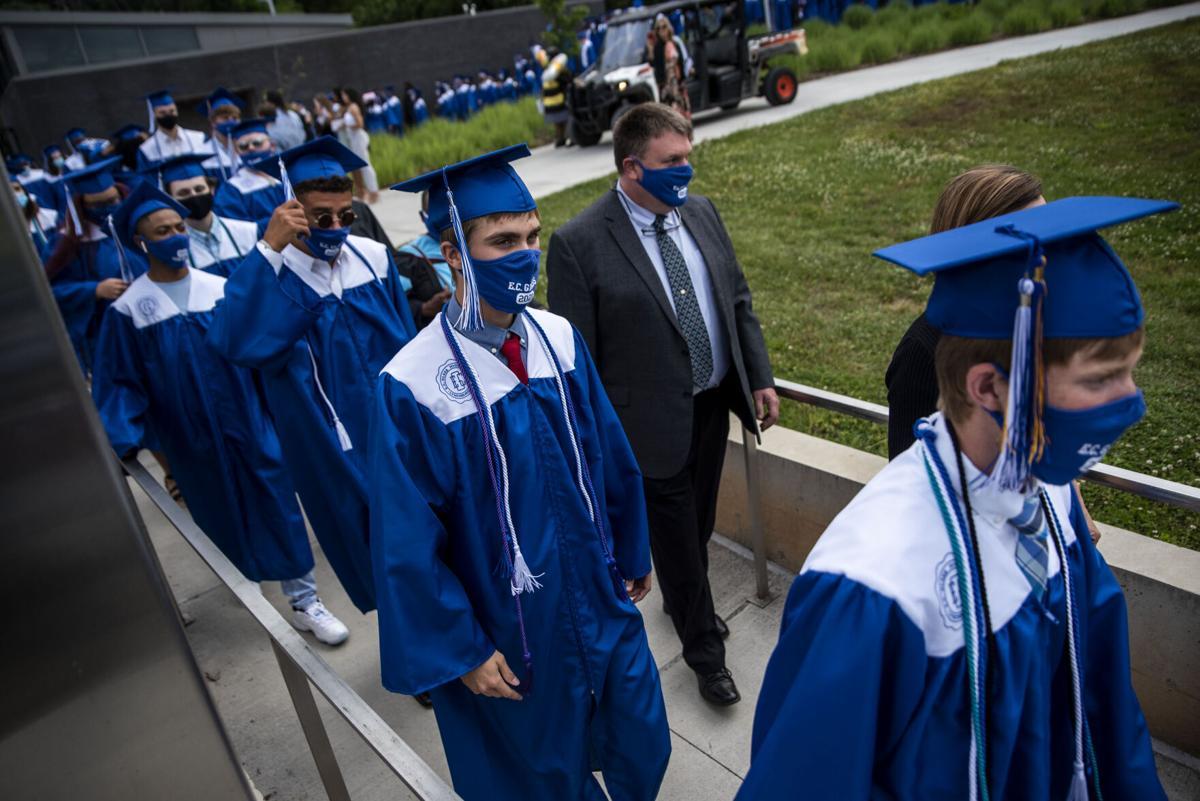 EC Glass Graduation 2021 file photo