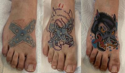 Erase the Hate tattoo