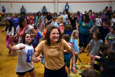 Mixed emotions on the final days of Body Camp, Thaxton elementary schools
