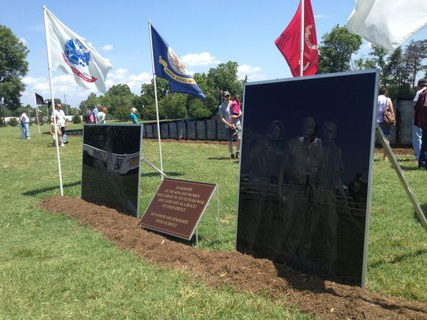 vfw post brings vietnam traveling wall to eden eden