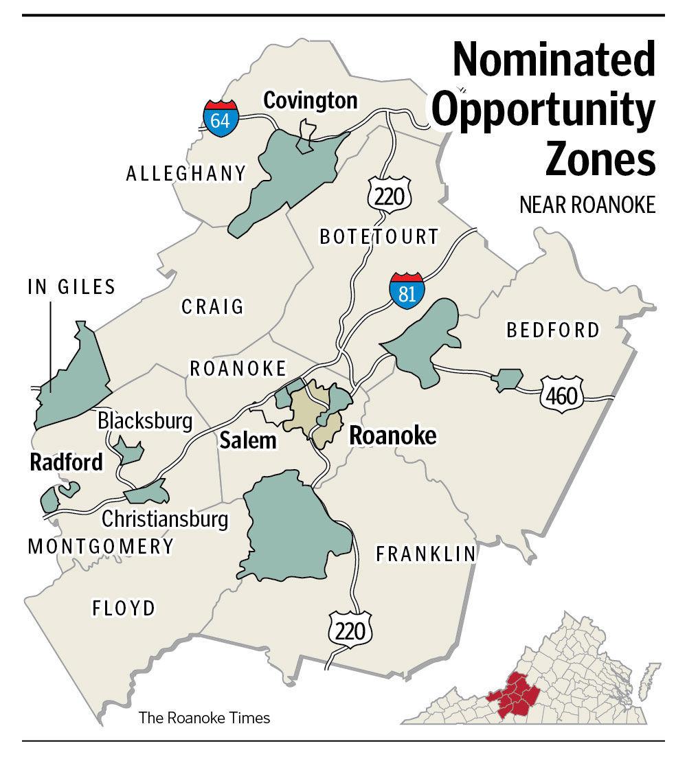 Virginia Car Tax >> Northam designates 'Opportunity Zones' to attract ...