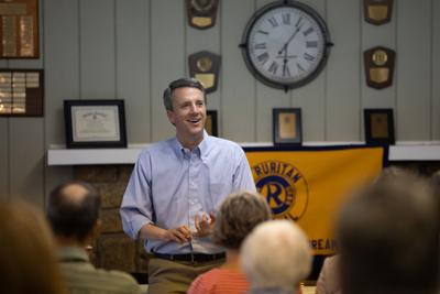 Cline addresses Mueller report, immigration at Amherst town hall