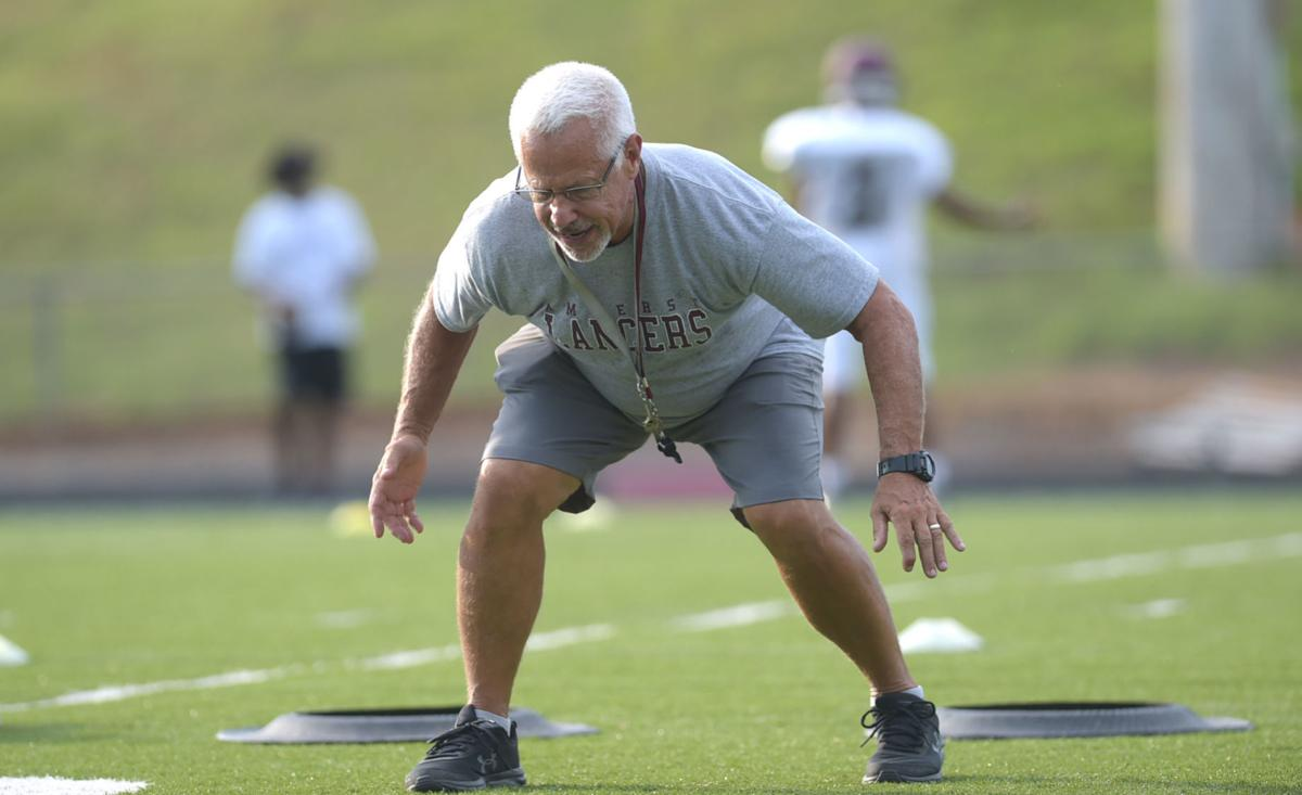 Amherst County Football Practice 4