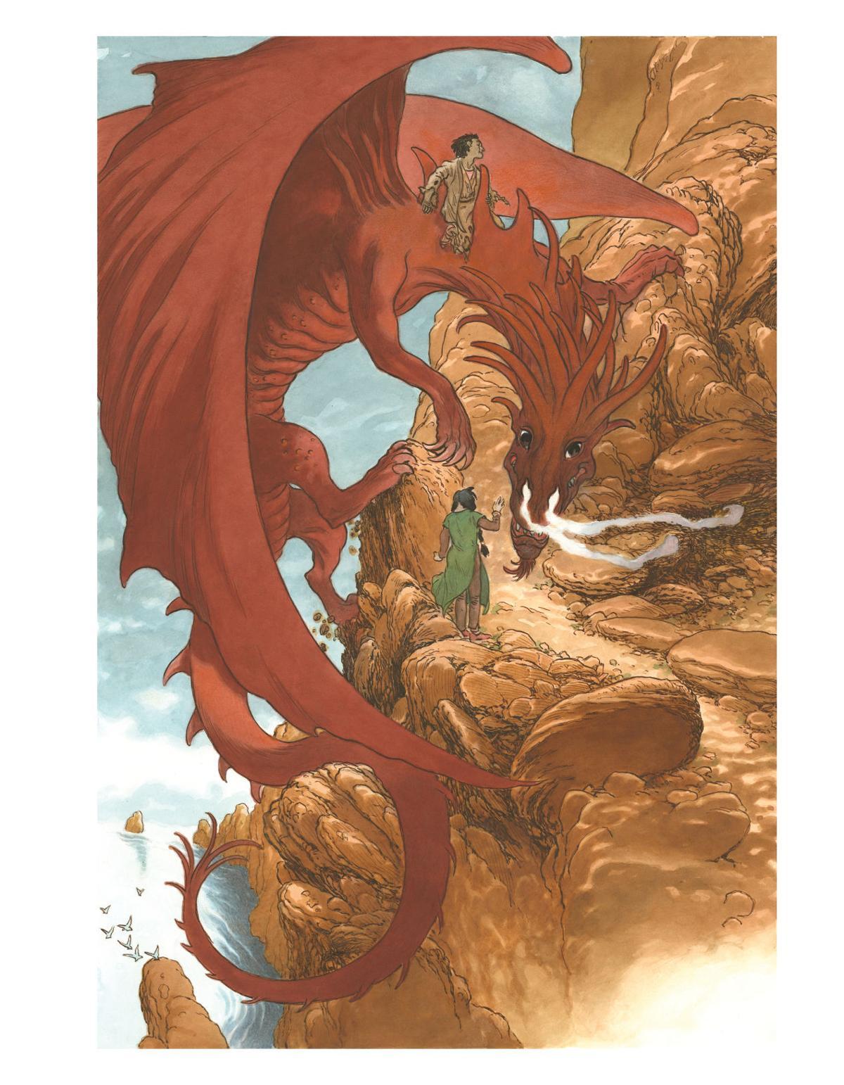 Of magic and dragons: How Lynchburg-born artist Charles Vess